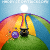 St. Patricks Day emote by sackofsquan
