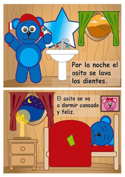 El osito azul page 7 and 8 by yaheiranaieth on deviantart - El osito azul ...