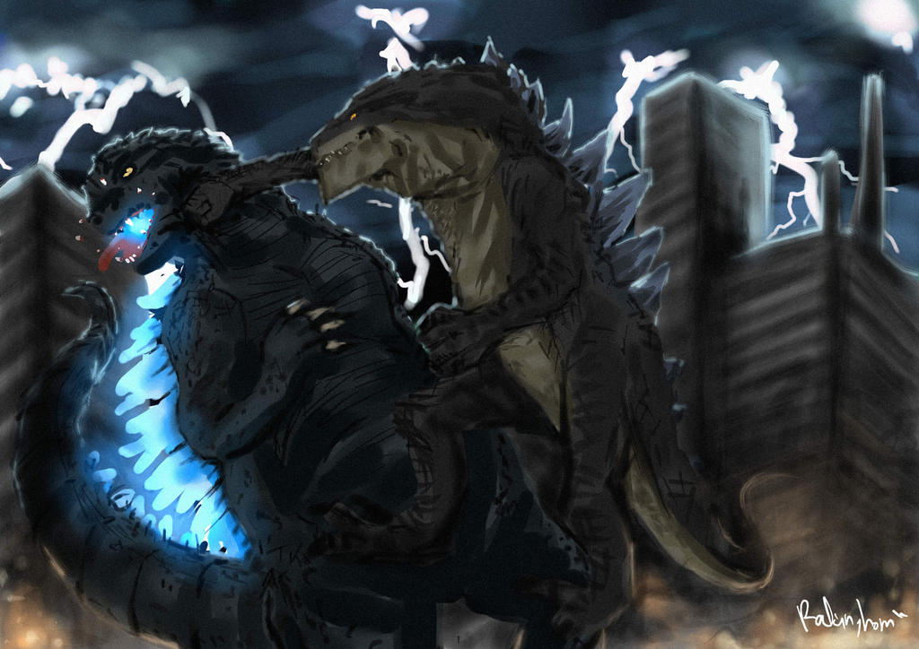 Zilla Strikes Back by oshirockingham
