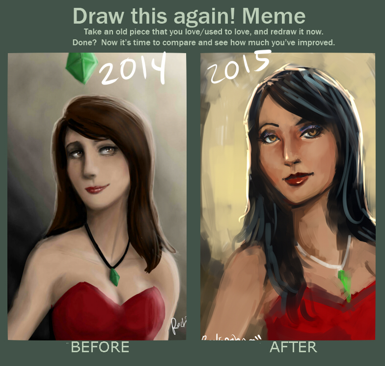Before And After: Bella Goth By Oshirockingham On DeviantArt