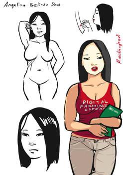 Sketch Draft: Dewi