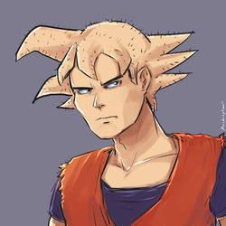 Clean Shaven Goku