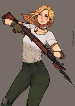 Battle Rifle Joanette