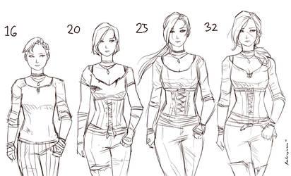 Joanette Age Progression Sketch