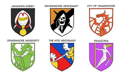 Heraldry of Luxo Ausomis