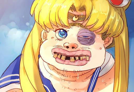 Sailormoon screencap redraw challenge