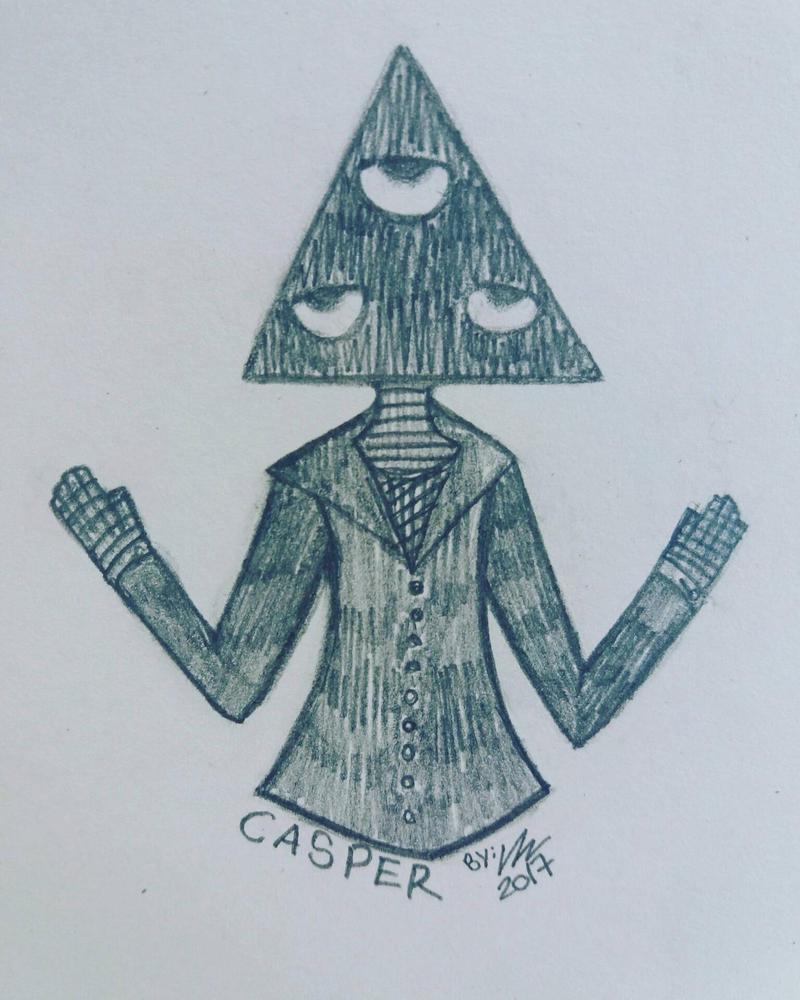 Casper (doodle) by DespairDrawings
