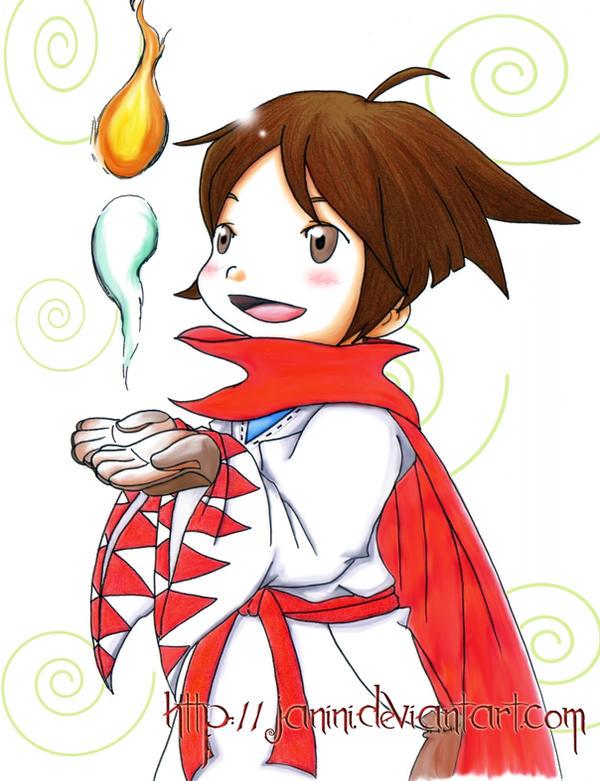 My magician n.n by janini