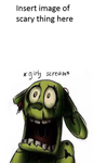 Who Is Scaring Springtrap Blank Meme