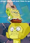 Spongebob calls yellow diamond pinhead meme
