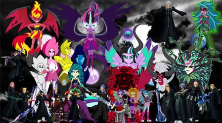 The villians of the multiverse by pokekid333