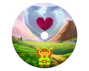 Legend of Zelda CD Design by RhymesWithSatan