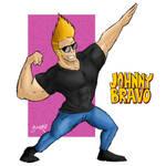 Johnny Bravo by fenix-azul