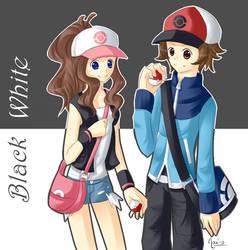 Pokemon Black and White by Winoa