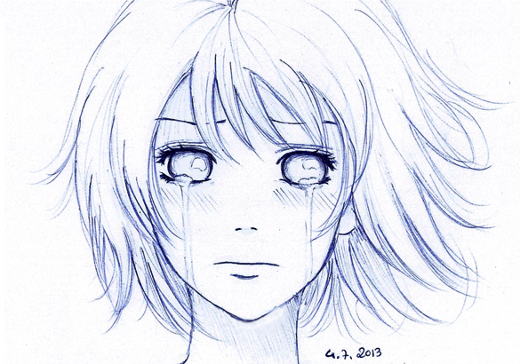 Can't Hold Tears Back By Lee-chan97 On DeviantArt