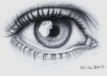 Detailed Eye Drawing 2 by Lee-chan97