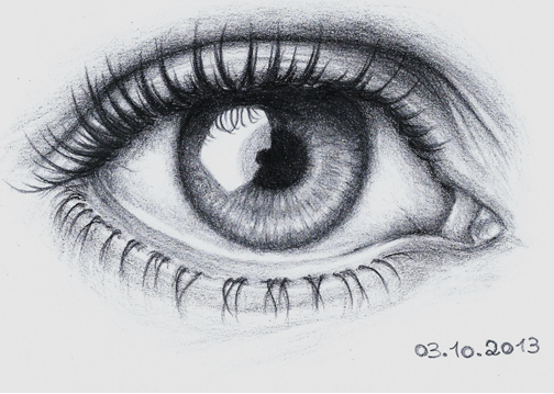Detailed Eye Drawing 2 By Lee chan97 On DeviantArt