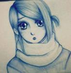 Random Anime Girl (in pen)