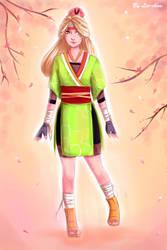 ~ cherry blossom ninja ~ by Lee-chan97