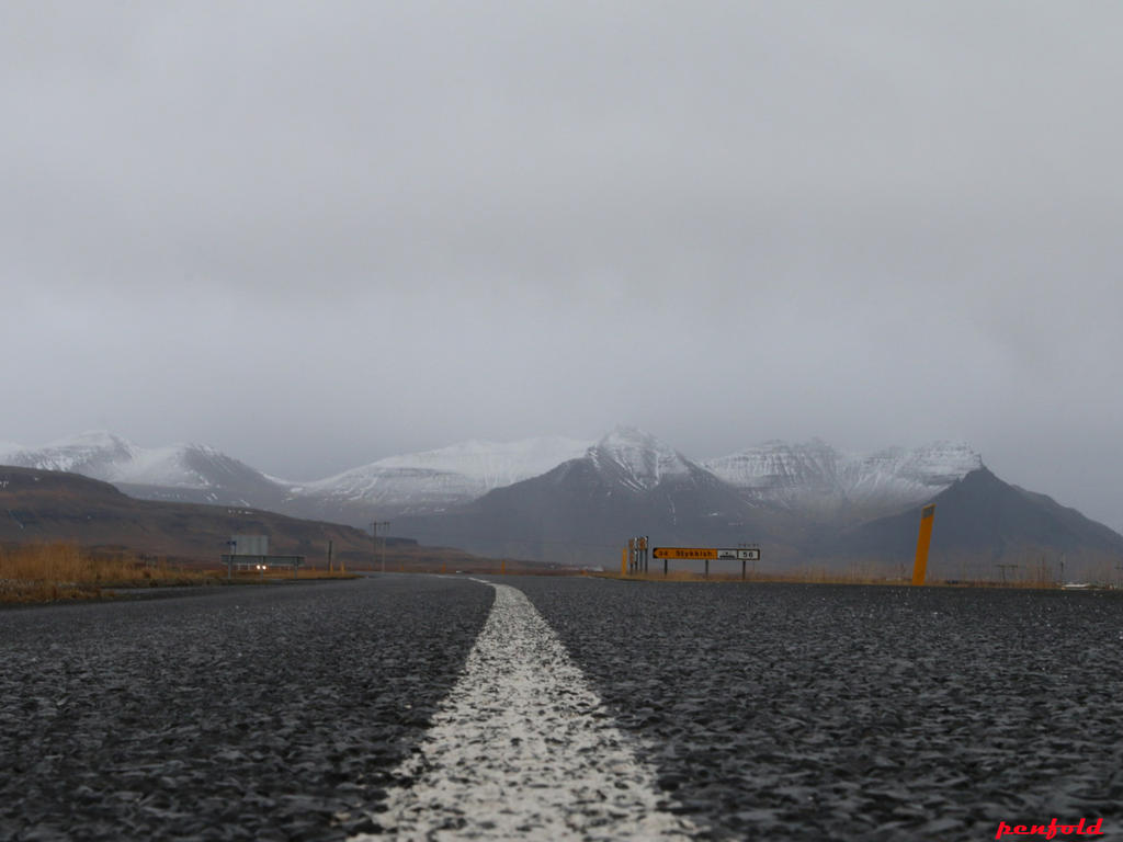 Road To Snaefellsness by penfold73