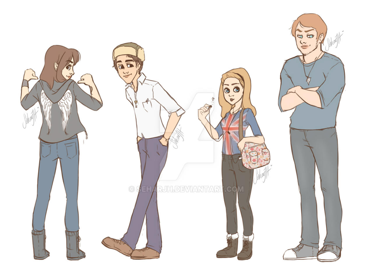 DAY 2: Draw your best friends by SeharJH on DeviantArt