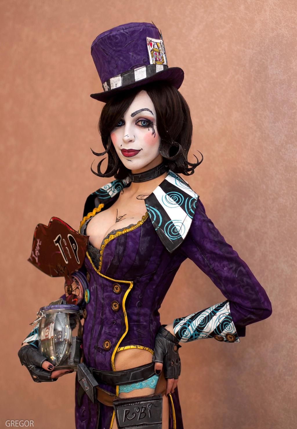 mad cosplay 2 Borderlands moxxi