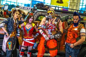 Borderlands cosplay group by DariaRooz