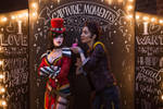 Mad Moxxi and Handsome Jack Valentine's Day 1 by DariaRooz