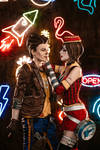 Moon Moxxi and Timothy Lawrence Borderlands by DariaRooz