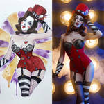 Mad Moxxi cosplay vs character