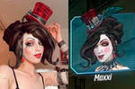 Mad Moxxi Borderlands 3 side by side cosplay