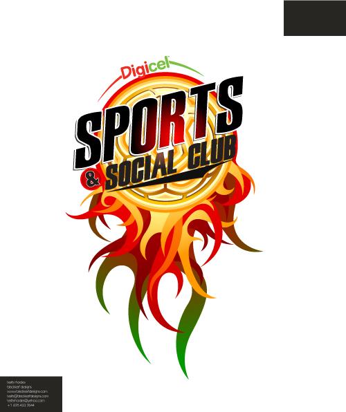digicel sports club logo by foxxtheprince on deviantart