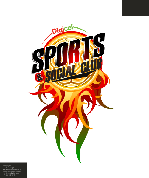 Digicel Sports Club Logo By Foxxtheprince On Deviantart