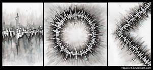 Abstractum Triptychon