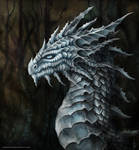 White Dragon Portrait