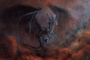 Red Sky Dragon by Vapolord