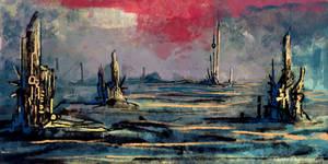 Alien Landscape Concept