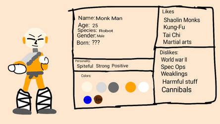 Monk Man Ref Sheet