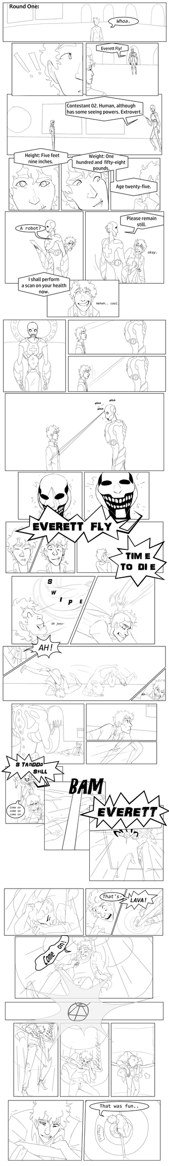 Tower: Round One Page One by chamimation