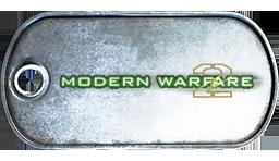 BF3 Call Of Duty Modern Warfare 2 Dog Tag by MasterAlucard75