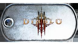 Battlefield 3 Diablo 3 Dog Tag by MasterAlucard75