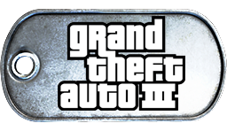 Battlefield 3 Grand Theft Auto 3 Dog Tag by MasterAlucard75