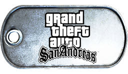 Battlefield 3 Grand Theft Auto San Andreas Dog Tag by MasterAlucard75