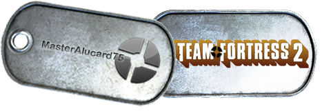 Battlefield 3 Team Fortress 2 Dog Tags by MasterAlucard75