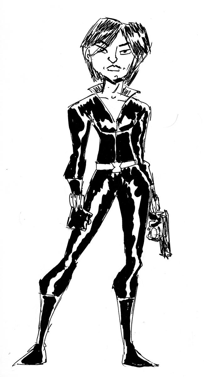 Black Widow sketch