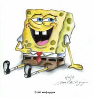 SpongeBob by miseinen