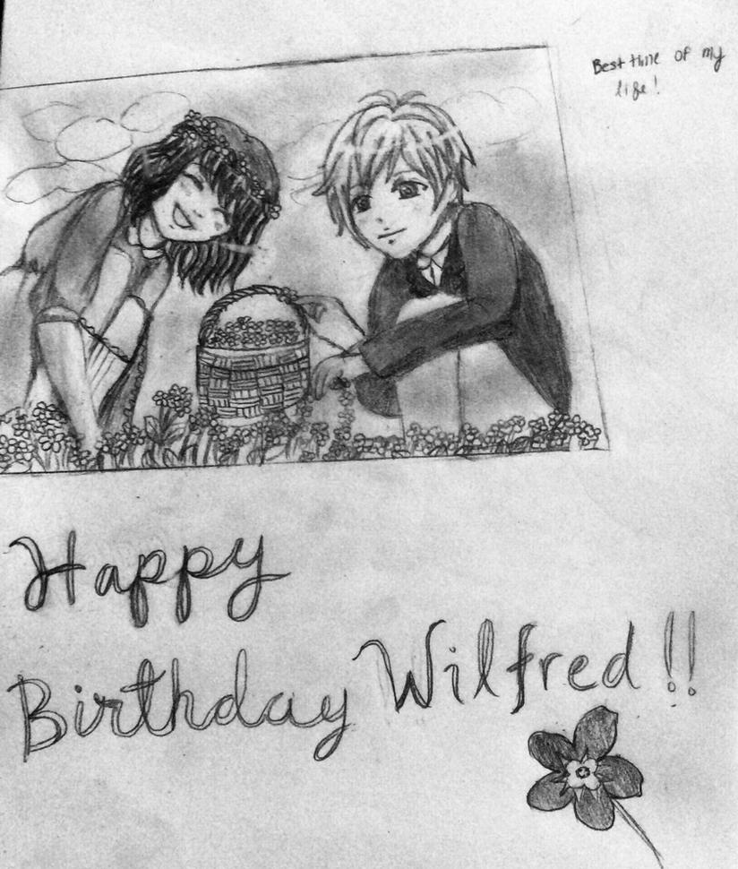 happy birthday wilfred by karenfiregirl