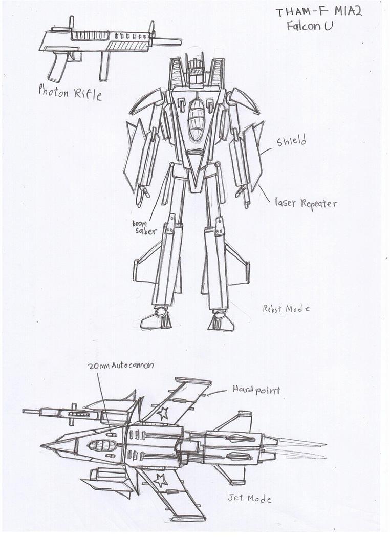 THAM-F M1A2 Falcon U by Target21