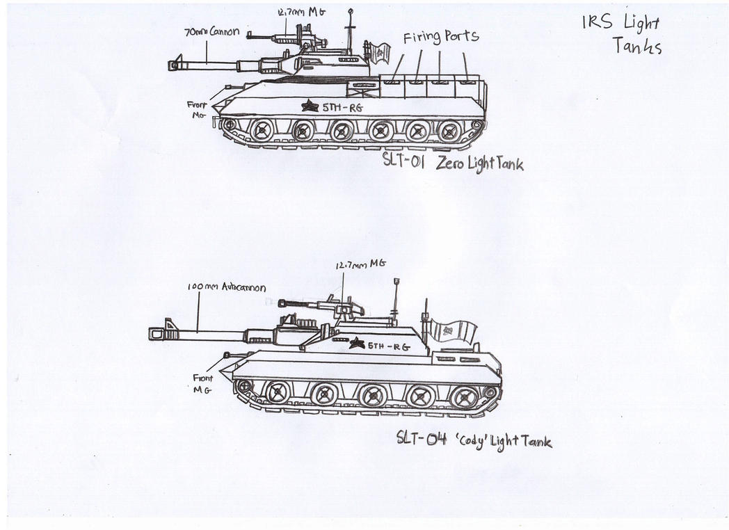 IRS Light Tanks by Target21