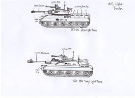 IRS Light Tanks